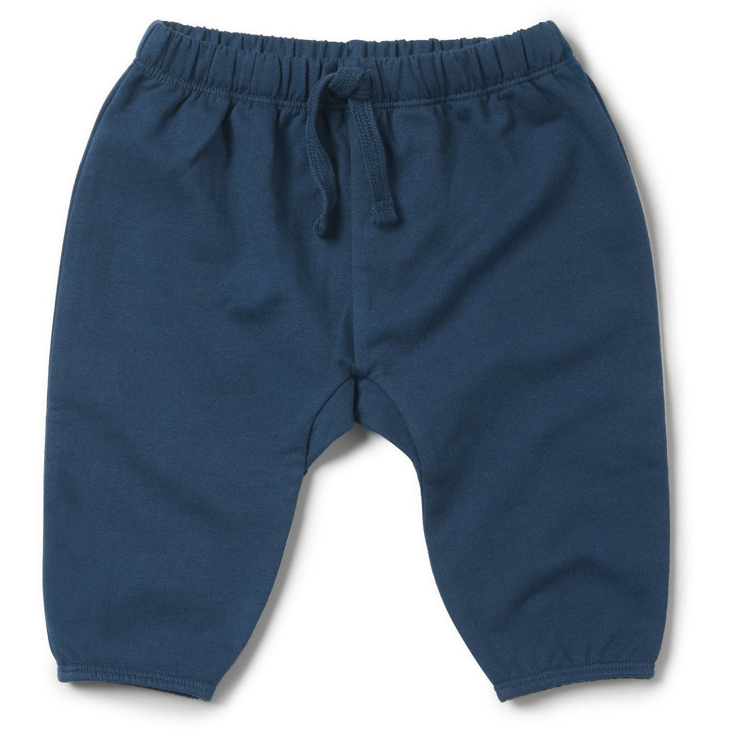 Baby Slouch Pant - Wilson and Frenchy Majolica Blue - Baby Luno