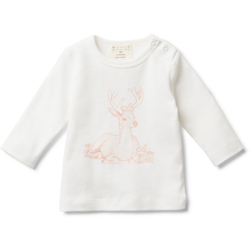 Load image into Gallery viewer, Baby Long Sleeve Shirt - Little Dear - Baby Luno
