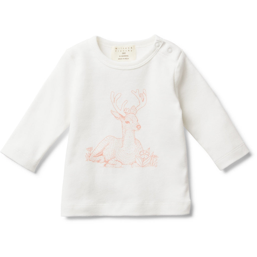 Baby Long Sleeve Shirt - Little Dear - Baby Luno