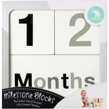 Milestone Blocks - Black & White