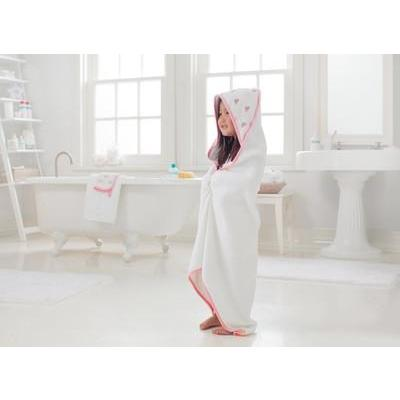 Baby Hooded Towel & Washcloth Set - Heartbreaker