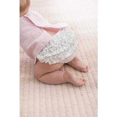 Baby Ruffle Bloomer - Lovely Mini Hearts - Baby Luno