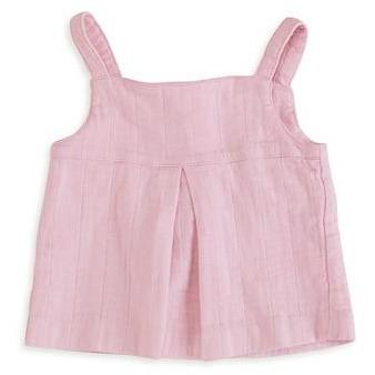 Baby Smock Top - Lovely Pink - Baby Luno