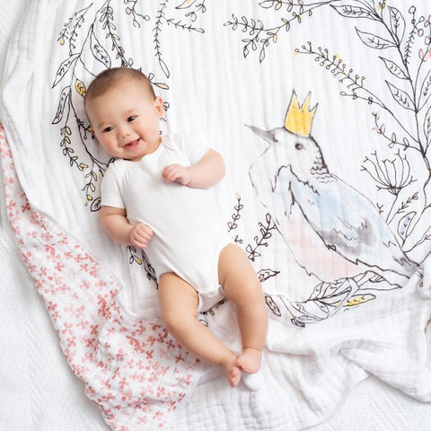 Baby Cot Sheet - Flannel Muslin Fate