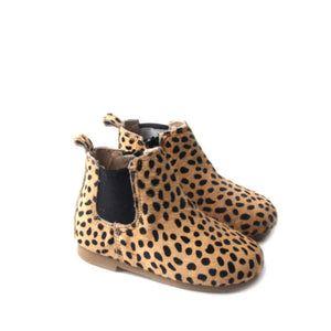 Kids Shoe - Little MeMe Boot Indi Cheetah