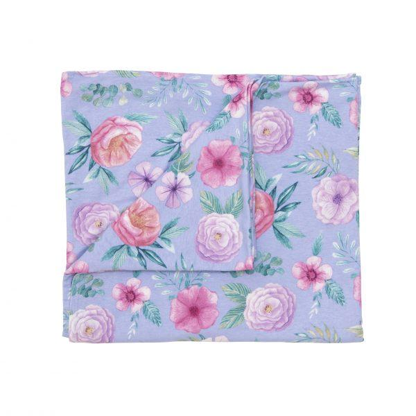 Baby Swaddle Blanket - Floral