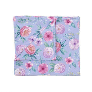 Baby Swaddle Blanket - Floral - Baby Luno