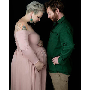 Load image into Gallery viewer, Maternity Gown - Gaia - Baby Luno