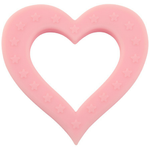Teether - Pink Heart - Baby Luno