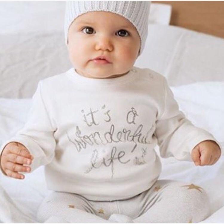 Baby Shirt - Long Sleeve Wonderful Life - Baby Luno