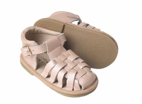 Kids Shoe - Little MeMe Sandal Avery Blush