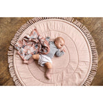Playmat - Powder Pink Fringe