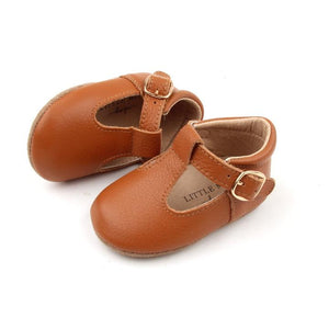 Baby Shoe - Little MeMe Emerson Tbar Tan