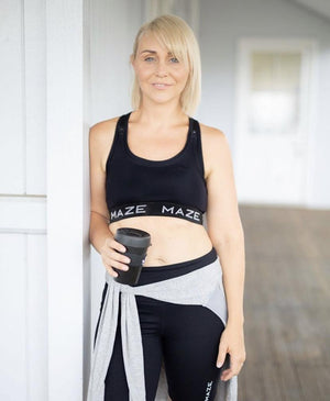 Nursing Sports Bra - Maze Essentials Crop