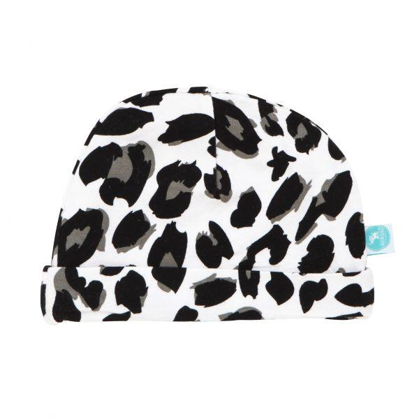 Load image into Gallery viewer, Newborn Beanie - Leopard - Baby Luno