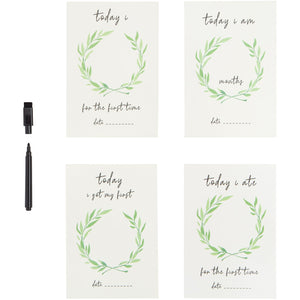 Personalised Milestone Cards - Baby Luno