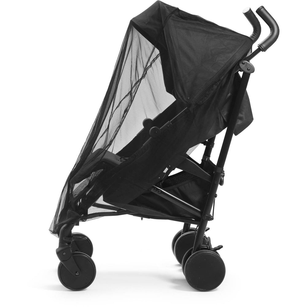 Pram Mosquito Net - Brilliant Black