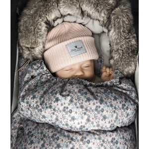 Load image into Gallery viewer, Baby Beanie - Merino Wool Powder Pink - Baby Luno