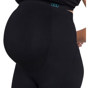 Load image into Gallery viewer, Maternity Leggings - Maze Full Length Pregnancy - Baby Luno