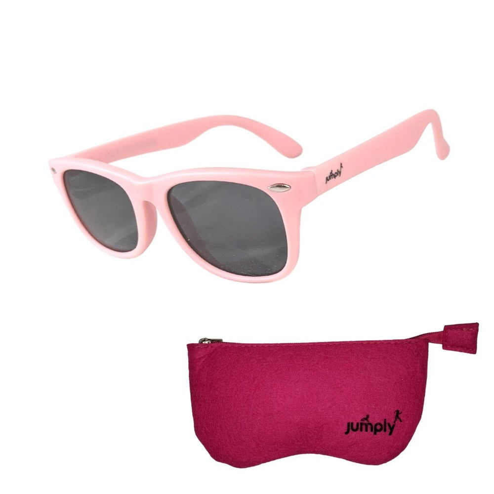 Load image into Gallery viewer, Kids Flex-Frame Sunglasses Polarized UV400 - Pink