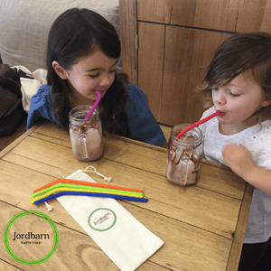 Load image into Gallery viewer, Silicone Straws - Baby Luno