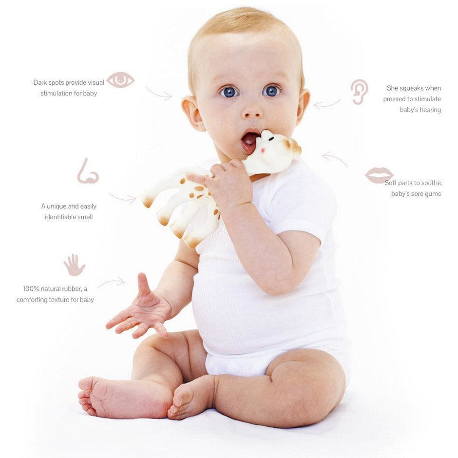 Sophie the Giraffe So Pure Ring Teether - Baby Luno