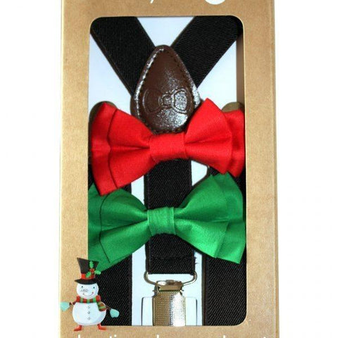 Bow Tie & Suspenders - St. Nick
