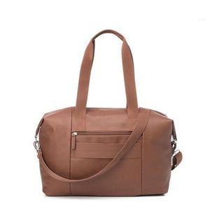 Baby Bag - Babymel Stef Vegan Leather Tan