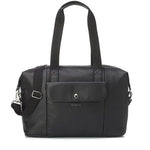Baby Bag - Babymel Stef Vegan Leather Black