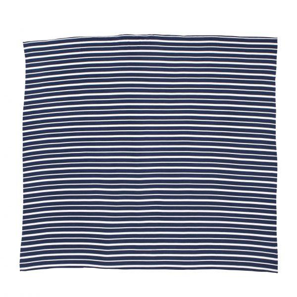 Baby Swaddle Blanket - Blue Stripe - Baby Luno