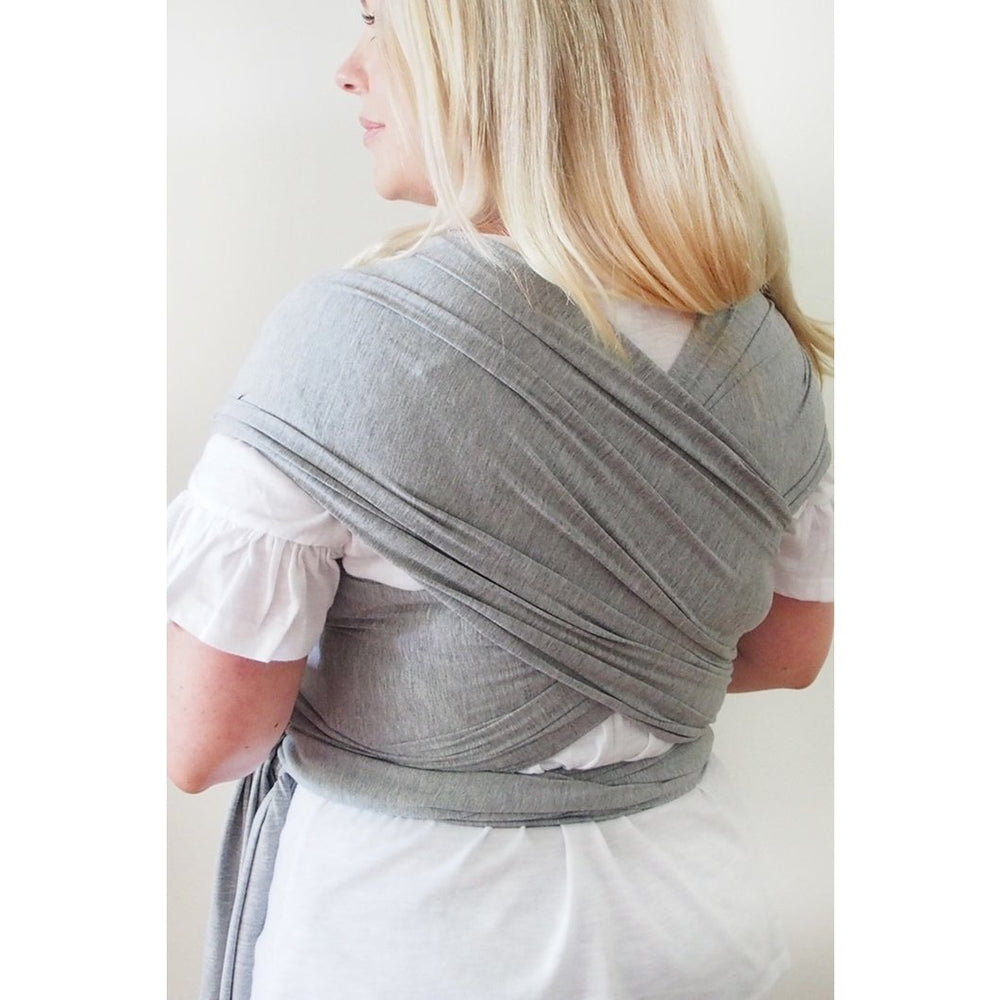 Baby Carrier - Wrap Grey Victoria Skies - Baby Luno