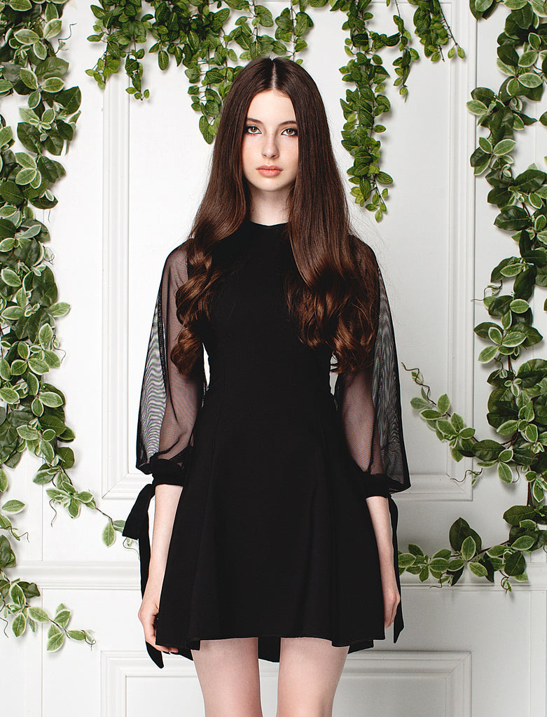 A-Line Little Black Dress