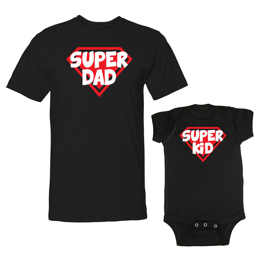 We Match!™ Super Dad & Super Kid Father & Child Matching Set