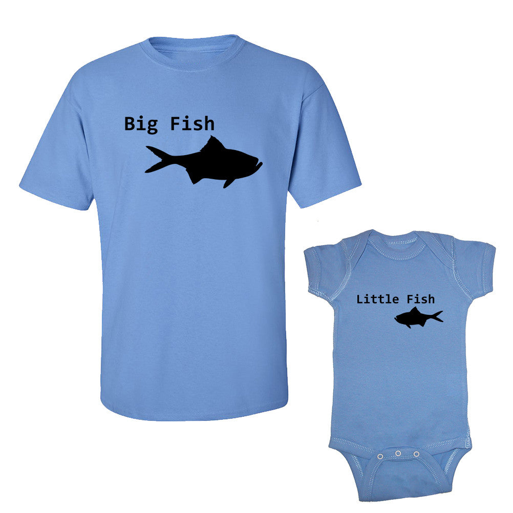 We Match!™ Big Fish & Little Fish Matching Shirts For Family Set