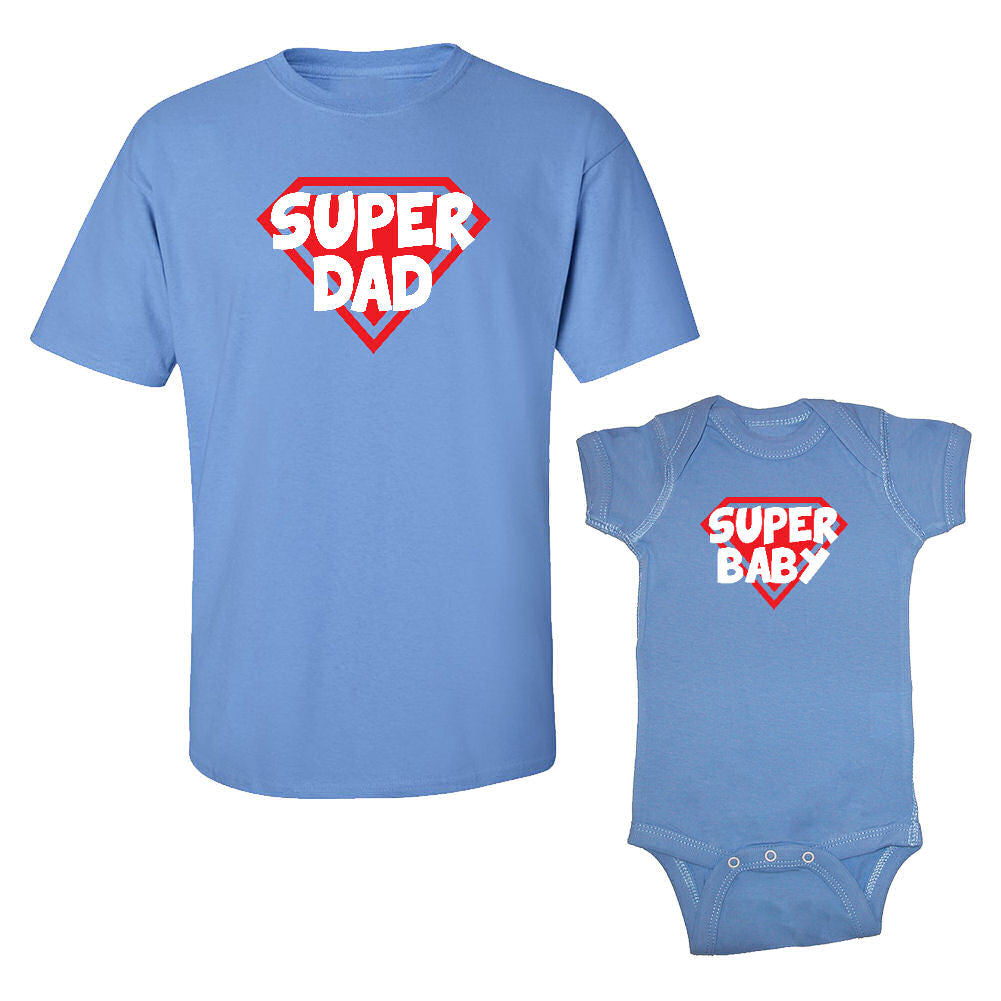 We Match!™ Super Dad & Super Baby Matching Daddy & Baby Set