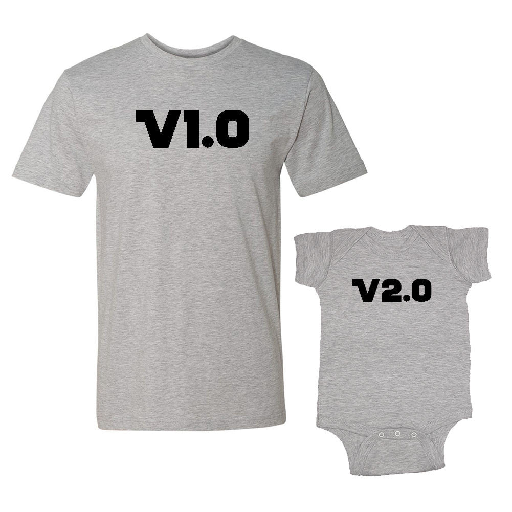 We Match!™ Version 1.0 & Version 2.0 Matching Shirts For Family Set