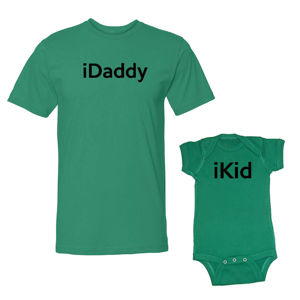 We Match!™ iDaddy & iKid Matching Shirts For Family Set