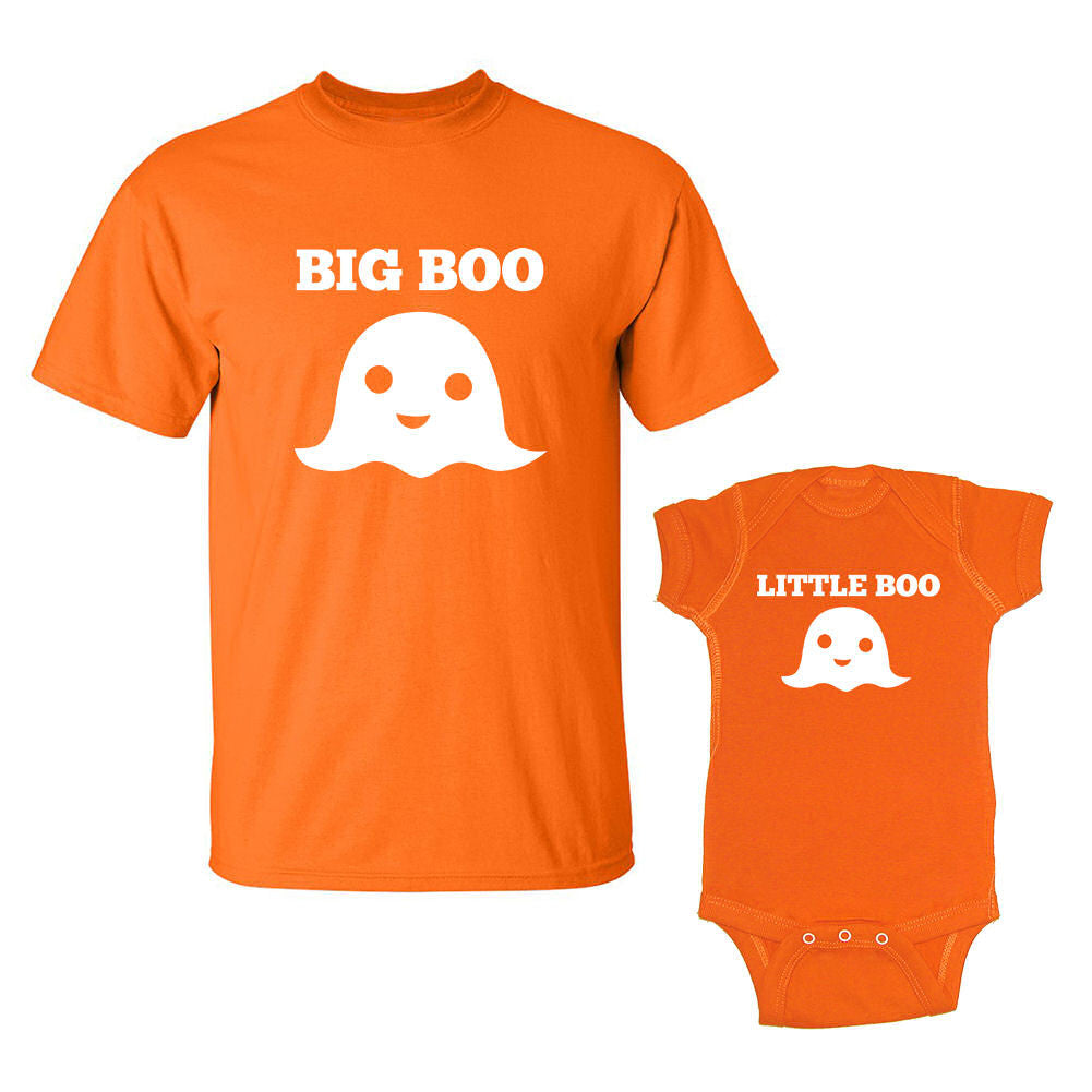 We Match!™ Boo & Little Boo T-Shirt & Baby Bodysuit Set