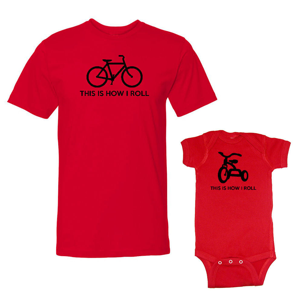 We Match!™ This Is How I Roll Bike & Tricycle Matching Shirts For Family Set