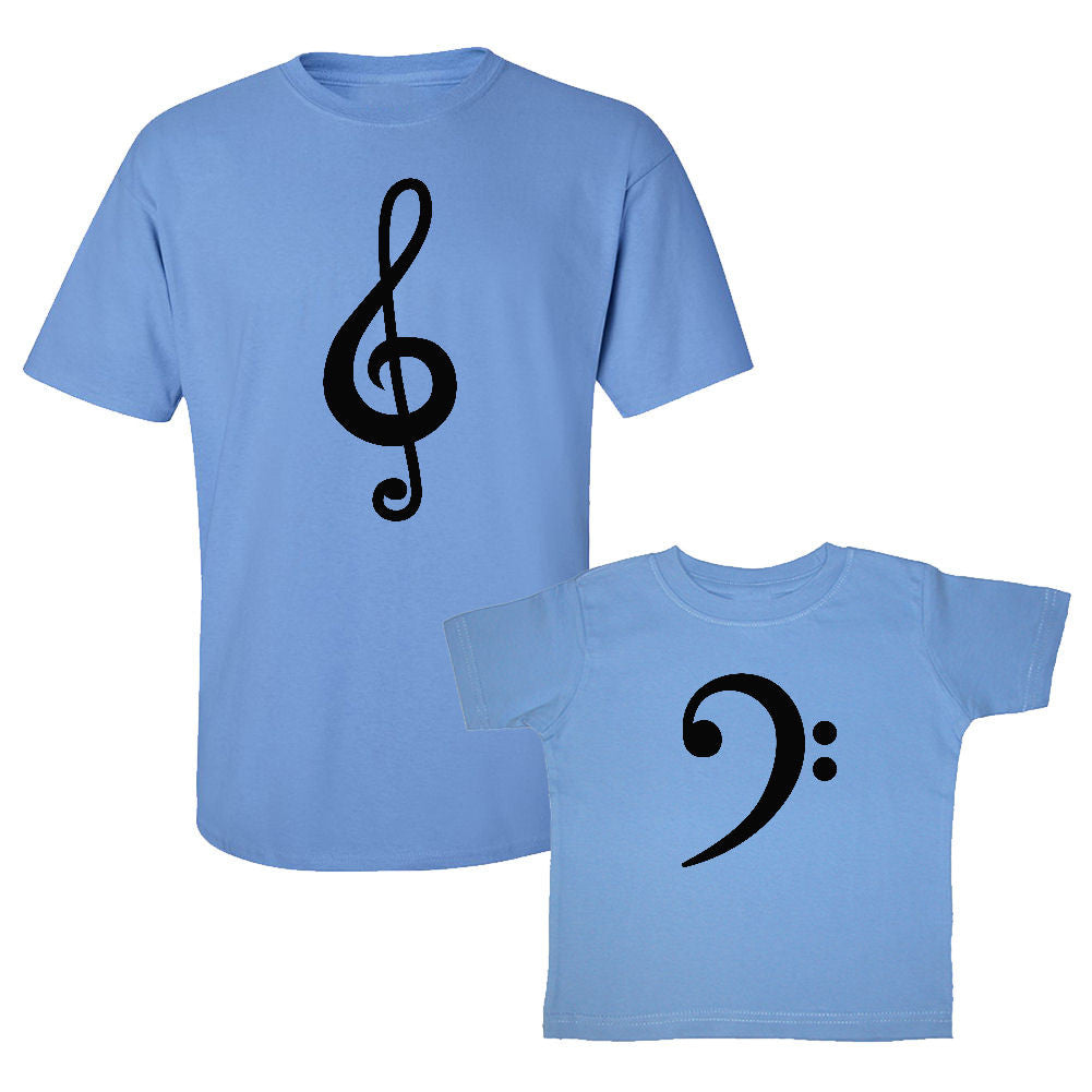 We Match!™ Bass & Treble Matching Shirts For Family Set