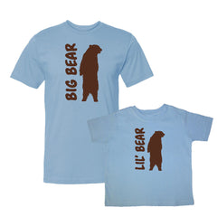 We Match!™ Big Bear & Little Bear Matching Shirts For Family Set