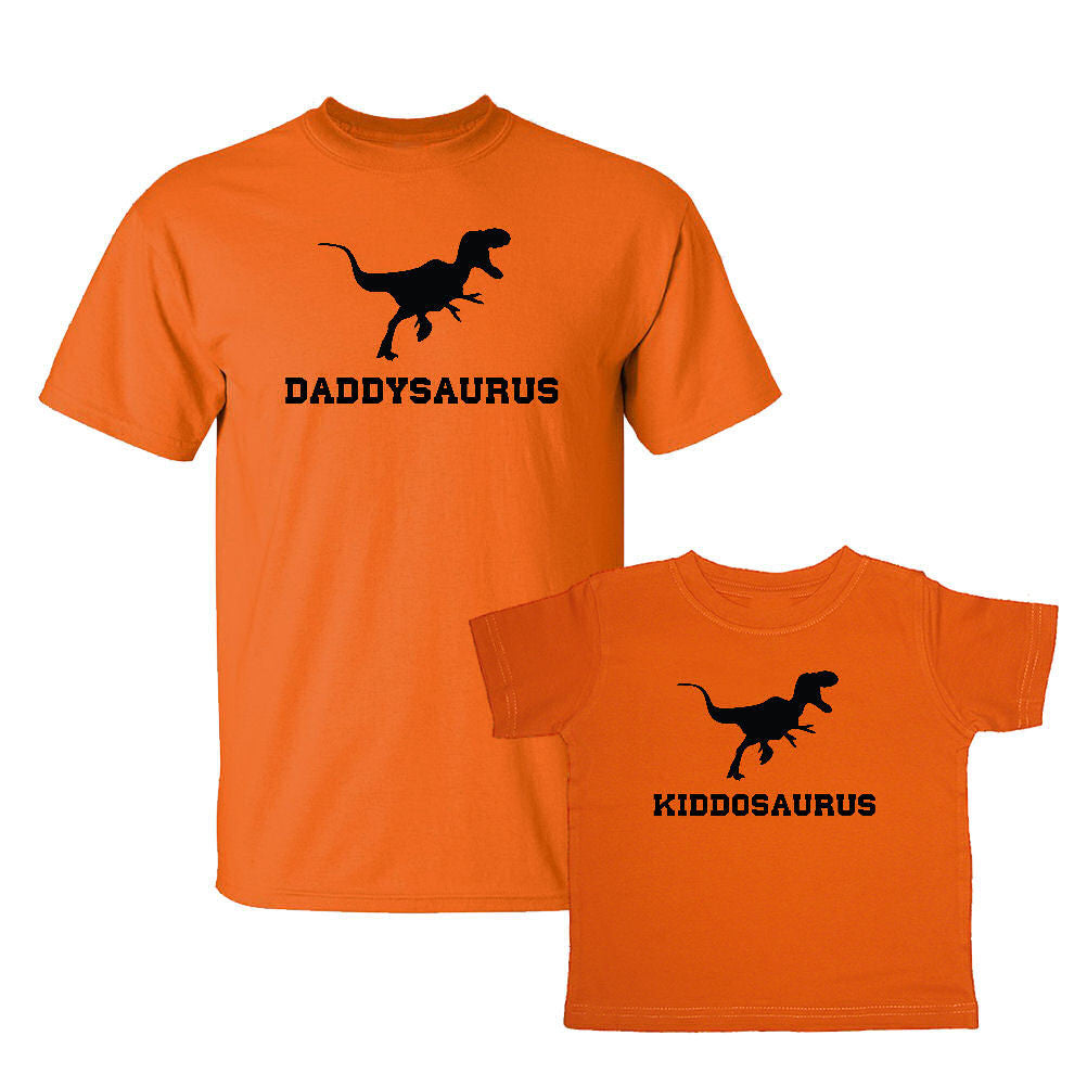 We Match!™ Daddysaurus & Kiddosaurus Matching Shirts For Family Set