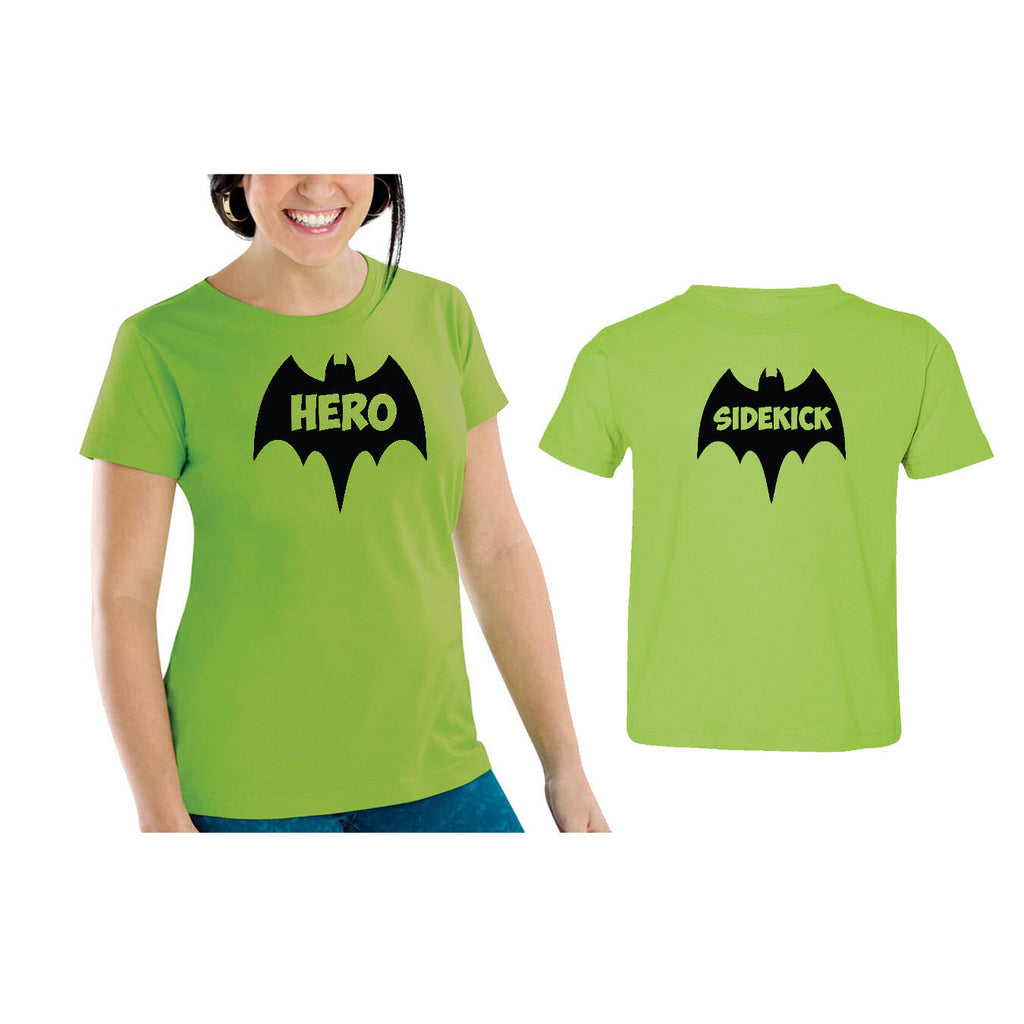 We Match!™ Hero & Sidekick (Bats) Matching Shirts For Family Set
