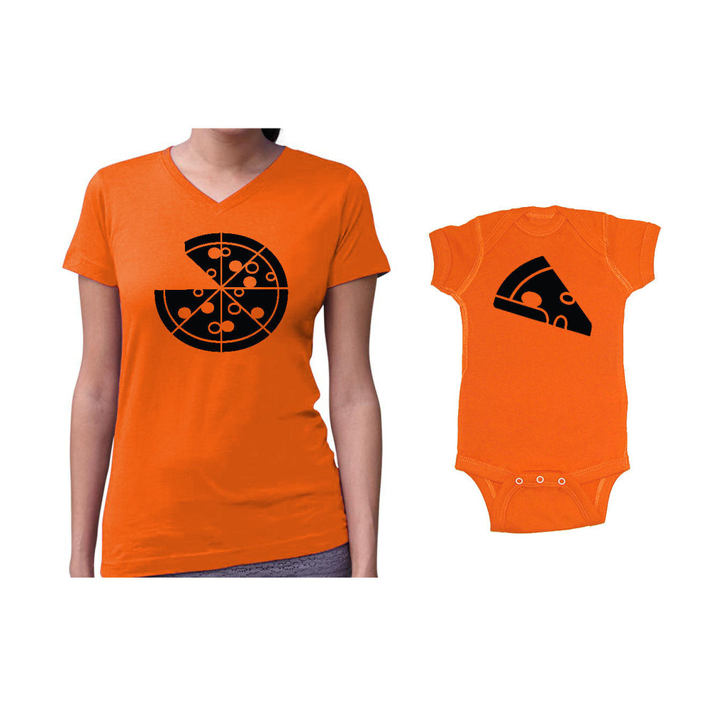 We Match!™ Pizza Pie & Pizza Slice Matching Shirts For Family Set