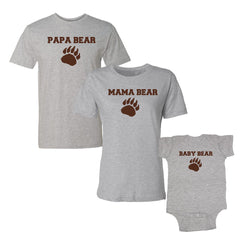 We Match!™ Papa Bear, Mama Bear & Baby Bear 3-Piece Matching Set
