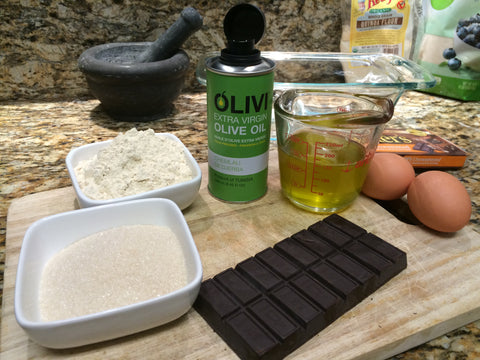 Recipe Melted Chocolate with olive oil