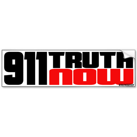 9/11 Truth Now Bumper Sticker