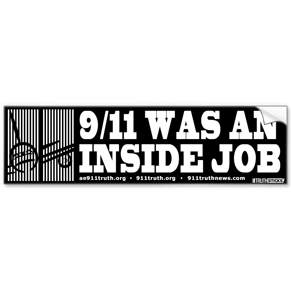 911-was-an-inside-job-sticker