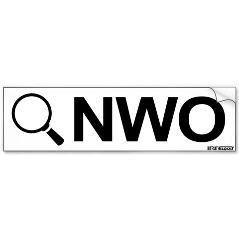 Search NWO Bumper Sticker