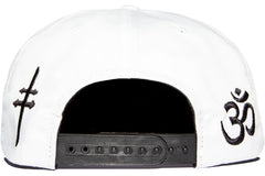 Frenemy Clothing White Super Symbols Snapback
